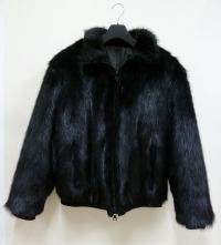 Мужская куртка из меха бобра