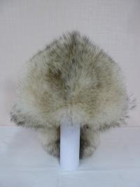 Шапка Малахай из полярного волка
