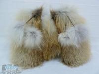 Варежки из лисы